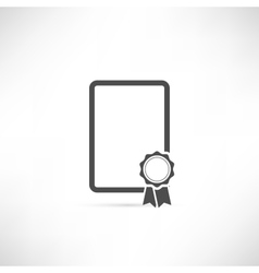 Empty Badge Icon vector image