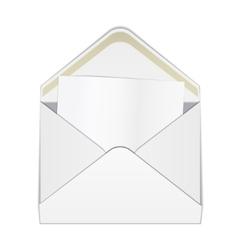 Envelope fold template 1 vector image