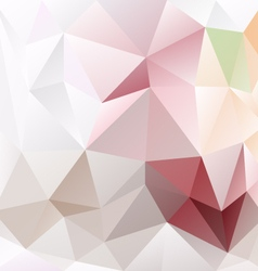 Light gray pink green abstract polygon triangular vector
