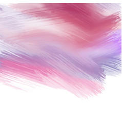 Paint strokes background vector