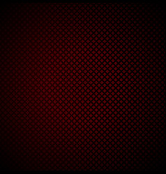red technology background with seamless perforated vector image