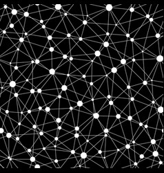 Seamless of atomic structure net vector