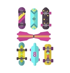 Skateboard isolated vector image
