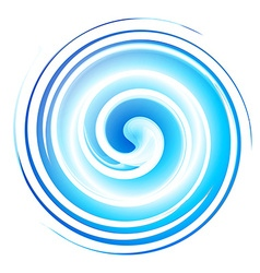 Vortex background blue vector