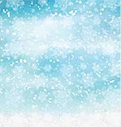 watercolor christmas snowflakes 2410 vector image vector image