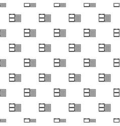 fridge pattern seamless vector image