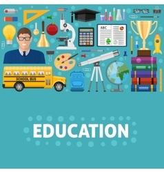 School Education Design vector