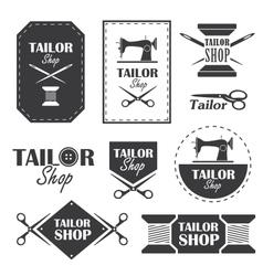 Tailor shop vector