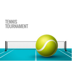 tennis championship game tournament background vector image