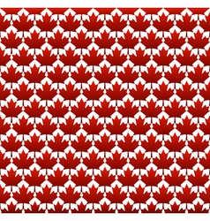Seamless structure Canada day vector image