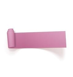 Breast Cancer Awareness symbol - pink Ribbon vector