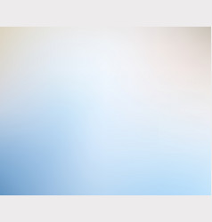 elegant blue blured light soft gradient background vector image