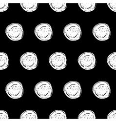Hand Drawn Polka Dot vector