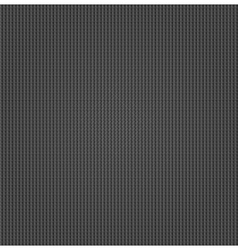 Metal surface with dark gray texture vector image