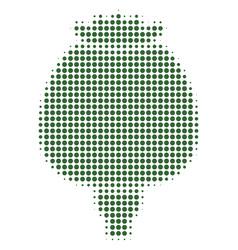 opium poppy halftone icon vector image