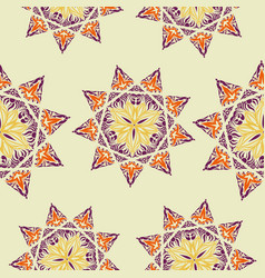 Oriental pattern islam arabic turkish moroccan vector