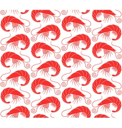 Shrimp Pattern vector