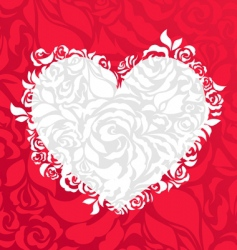 valentines background vector image