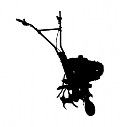 cultivator vector image vector image