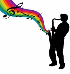 sax vector image vector image