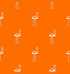 flamingo pattern seamless vector image