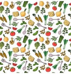 Fresh food vector