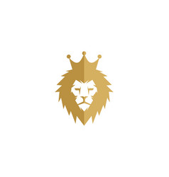 lion king logo icon design vector image