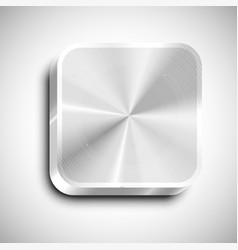 realistic app icon vector image