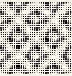 stylish halftone texture endless abstract vector image