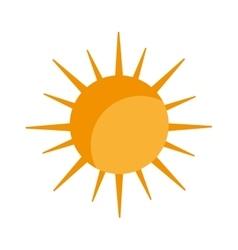 sun light sunlight icon graphic vector image