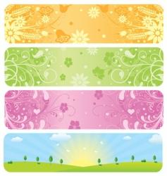 website banners vector image vector image