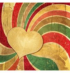 vintage romantic grunge vector image vector image