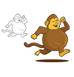 Chunky Monkey vector image