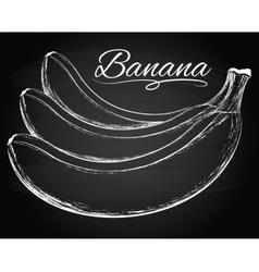 Tasty bananas vector image vector image