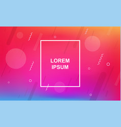 abstract minimalistic background with geometric vector image