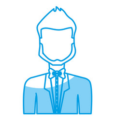 Avatar man icon vector