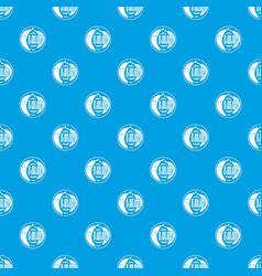 banana pattern seamless blue vector image
