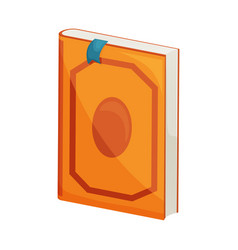 Book and dictionary icon vector