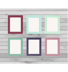 Design photo frame vector