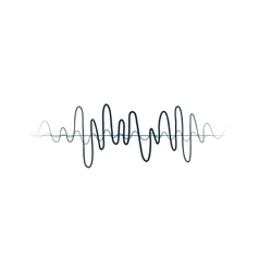 Equalizer music sound melody icon graphic vector