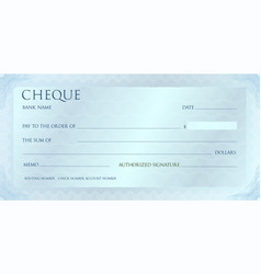 luxury silvet cheque template with vintage vector image