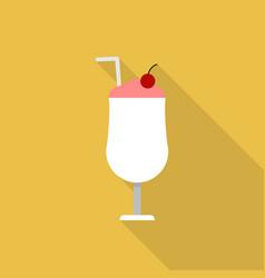 Milkshake icon set of great flat icons design vector