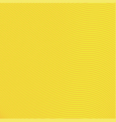 Yellow background of lines and waves vector