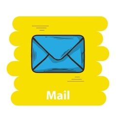 Email icon sign vector image vector image