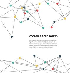 polygonal background3 vector image vector image