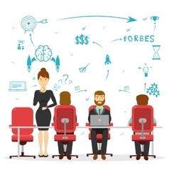 Business Brainstorming Design vector image