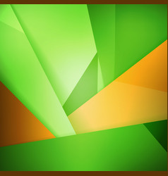 abstract background soft blurred green and orange vector image