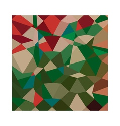 Amazon Green Abstract Low Polygon Background vector