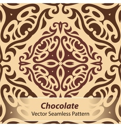 Chocolate Seamless Pattern vector