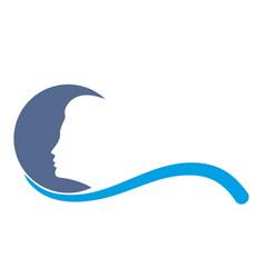 Logo of moon vector